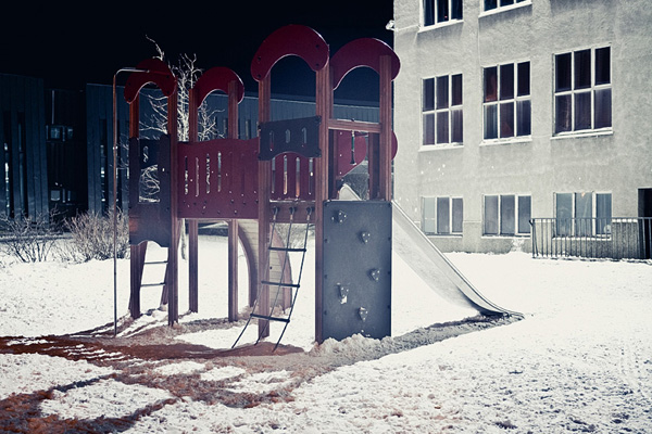 Scenes from snowy Vesturbær VI