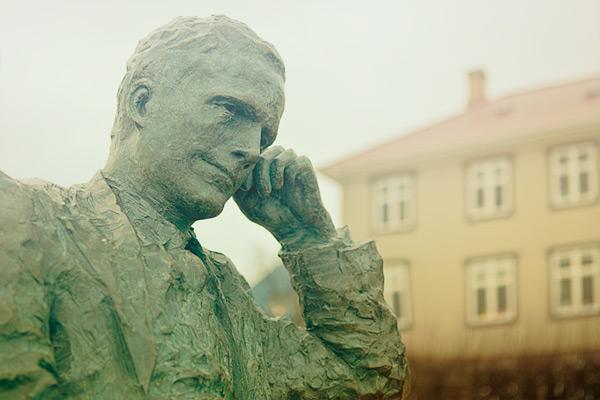 Tómas Guðmundsson by Halla Gunnarsdóttir