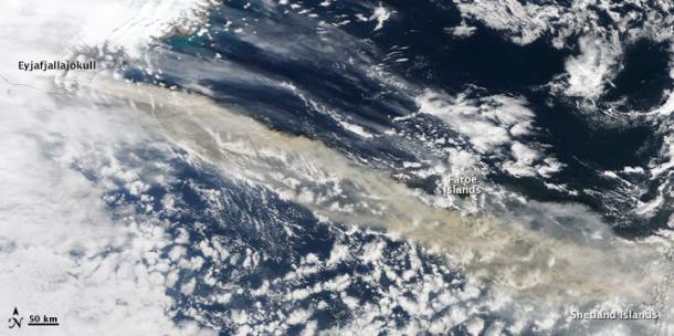 Nasa Eyjafjallajökull Ash Cloud