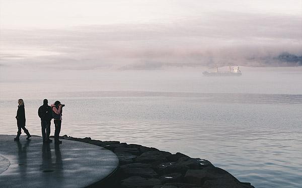 March 30 Reykjavík as a Smoky Bay